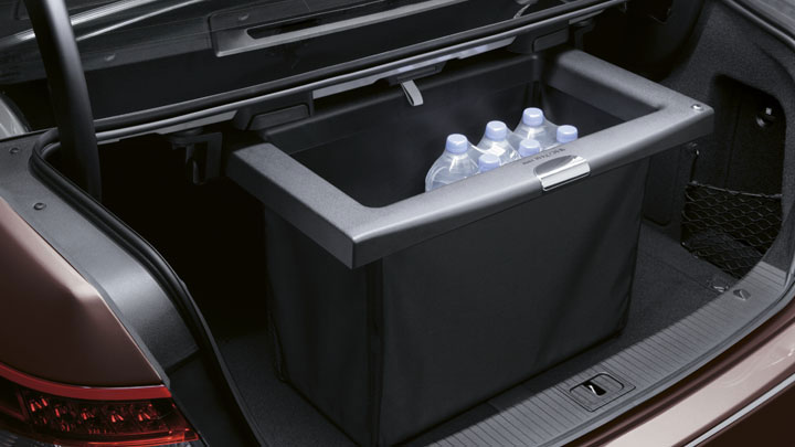 Cargo management options for the trunk forums for Mercedes benz car trunk organizer