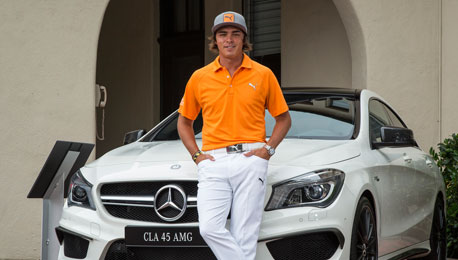 the gallery for gt rickie fowler mercedes