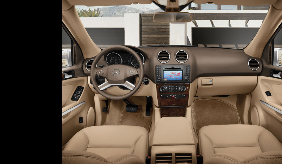 Image gallery ml350 interior for Mercedes benz ml350 2007