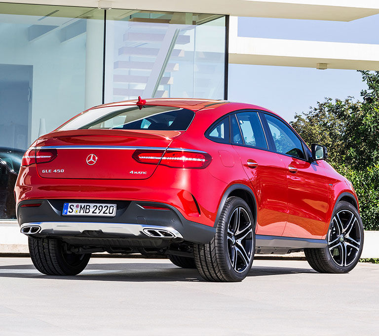 2016 Mercedes Benz Gle Coupe Exterior: 2016 Mercedes-Benz GLE Coupe