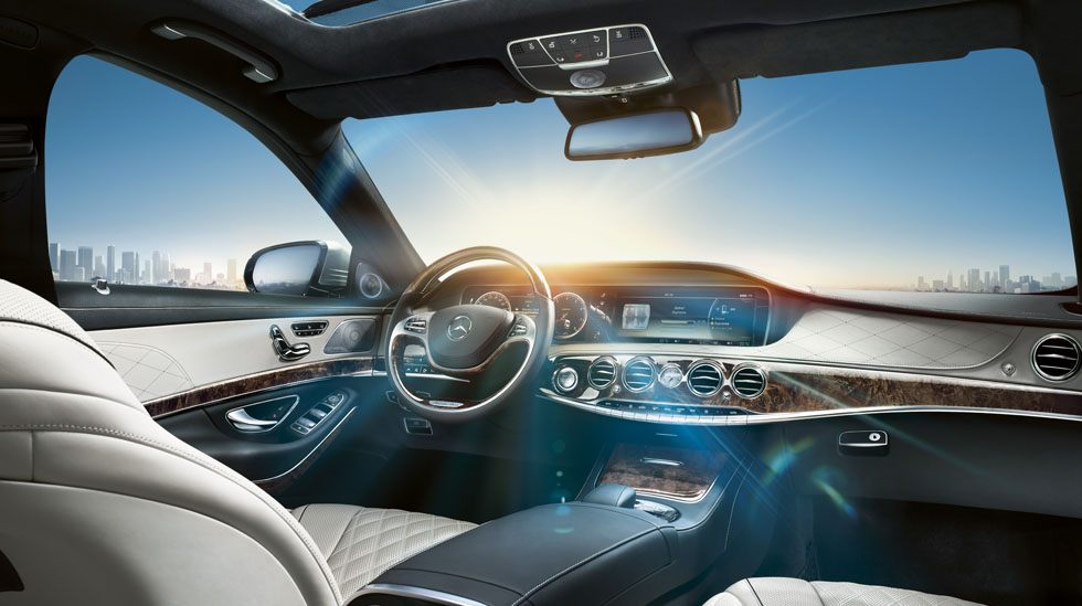 Mercedes S-Class 2014 interior