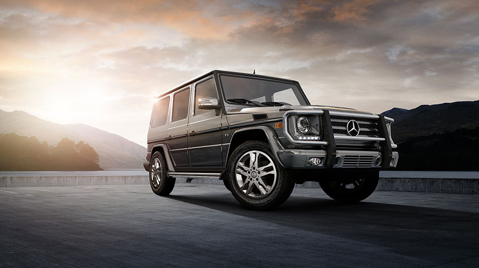 Mercedes Benz 13 G550 1000