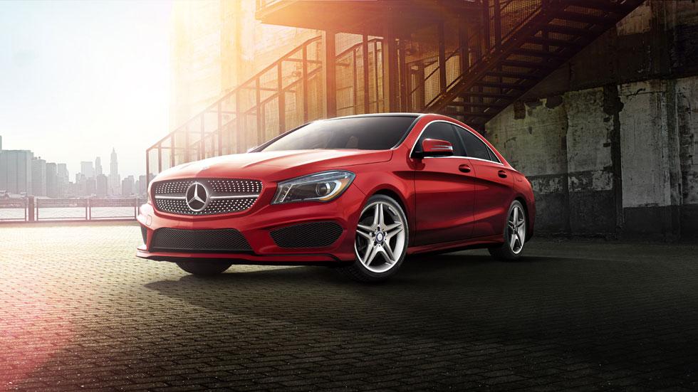 Mercedes Benz 2014 CLA CLASS COUPE 980x551