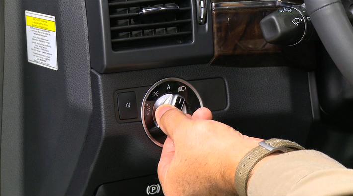 Mercedes Benz Usa Video Exterior Light Switch