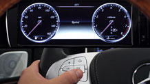 Mercedes Benz Thumb S Class MY14 Instrument Cluster@1x