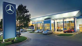 Mercedes benz of arlington auto body shop collision for Authorized mercedes benz service centers near me