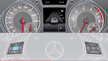 Mercedes Benz 15 TV CLA Class ATTENTION ASSIST