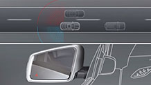 Mercedes Benz 17 TV Blind Spot Monitoring