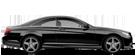 Mercedes Benz 2014 CL CLASS COUPE GLOBALNAV D