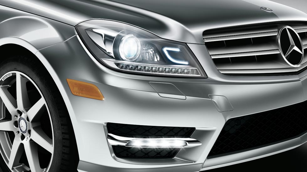 What Is This Headlight 2012 C Class Mbworld Org Forums
