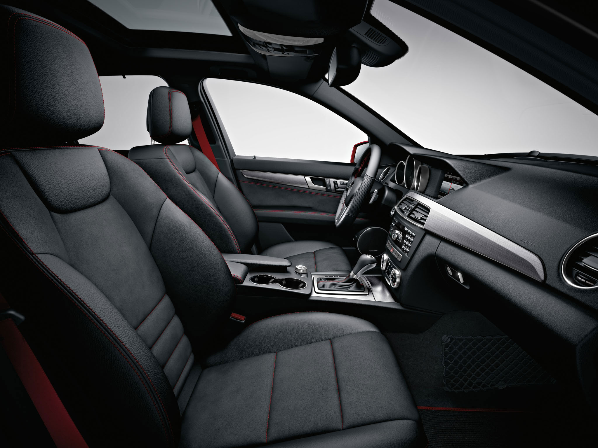 1000 images about c class on pinterest sports sedan sedans and coupe - Mercedes benz c class coupe interior ...
