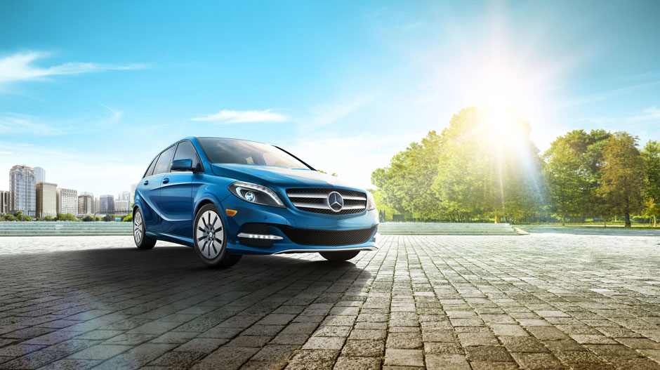 Los Angeles Mercedes 2015 b-Class Electric Car Lease Specials Incentives