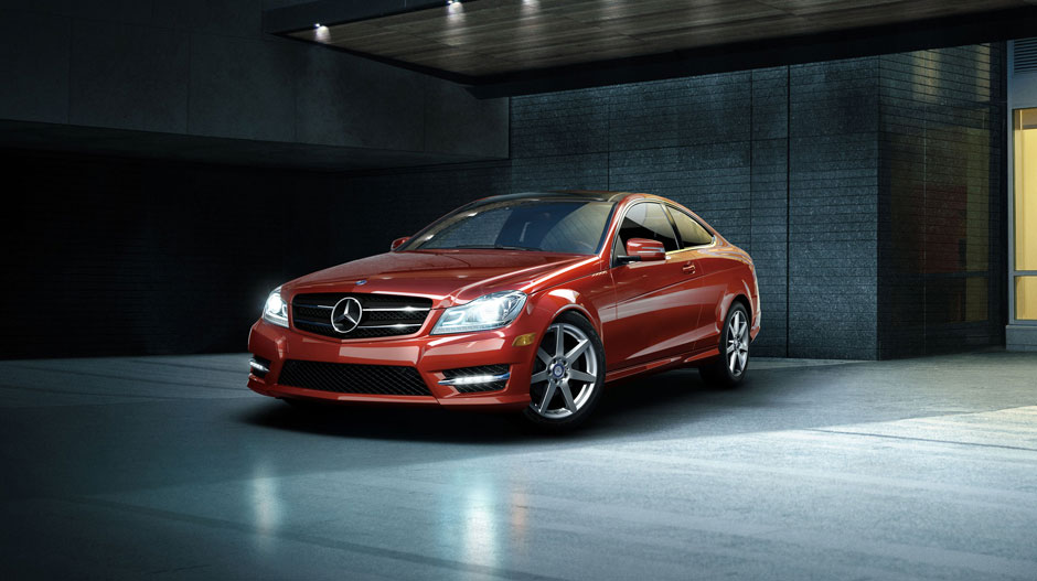 Mercedes Benz 2014 C CLASS COUPE GALLERY 002 GOE D