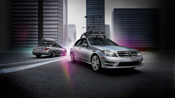 Genuine Mercedes-Benz Accessories for your C-Class Sedan.