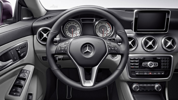 CLA250 in Ash with Anthracite trim and silver-faced instruments.
