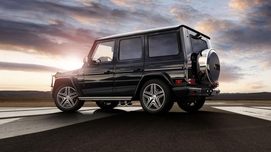 Mercedes Benz 2014 G CLASS SUV GALLERY 003 GOE D