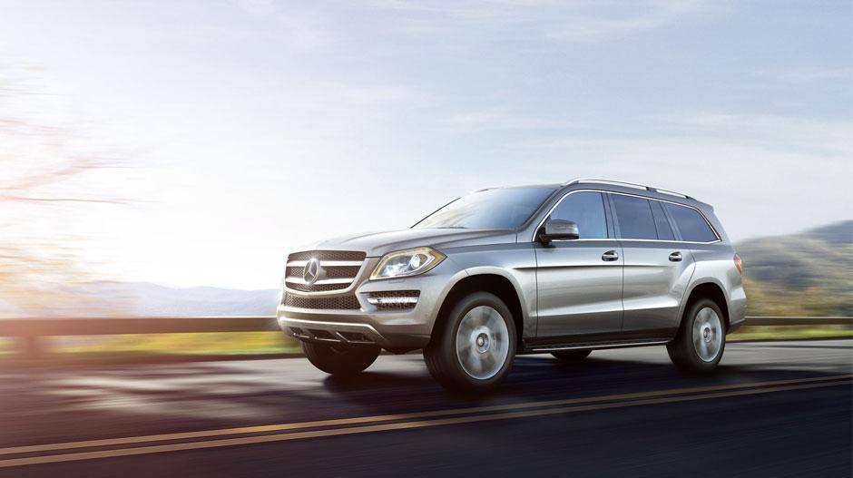 Mercedes Benz 2014 GL CLASS SUV GALLERY 001 GOE D