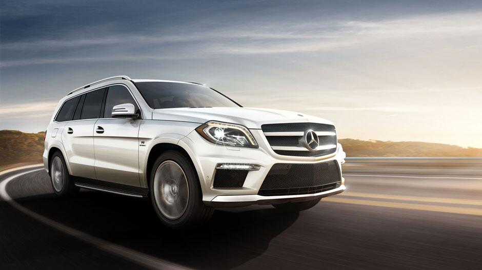 Mercedes Benz 2014 GL CLASS SUV GALLERY 007 GOE D