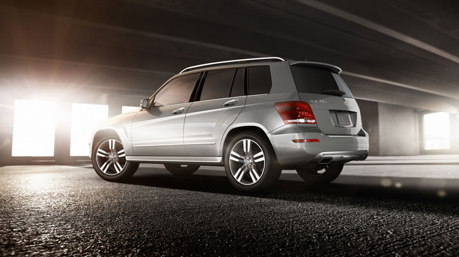 2015 Mercedes-Benz GLK350 rear