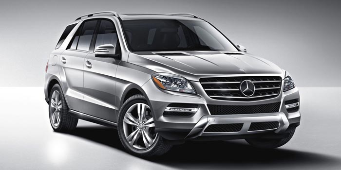 M class suv luxury all wheel drive and diesel suvs for Mercedes benz 7 seater models