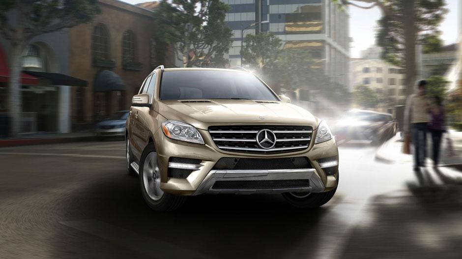 Mercedes Benz 2014 M CLASS SUV GALLERY 003 GOE D