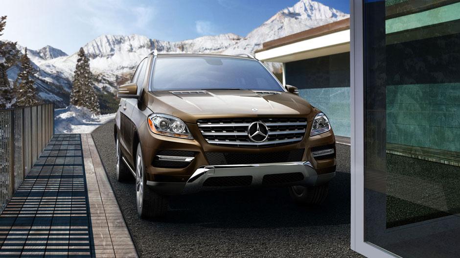 Mercedes Benz 2014 M CLASS SUV GALLERY 004 GOE D