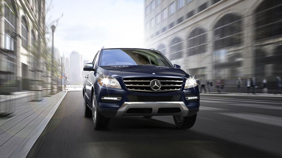Mercedes Benz 2014 M CLASS SUV GALLERY 006 GOE D