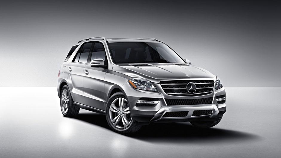Mercedes Benz 2014 M CLASS SUV GALLERY 007 GOE D