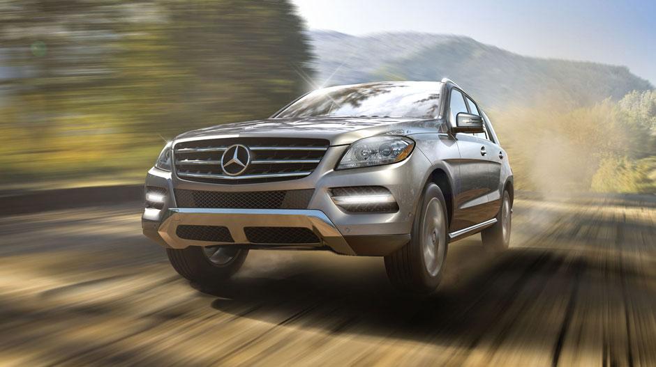 Mercedes Benz 2014 M CLASS SUV GALLERY 008 GOE D