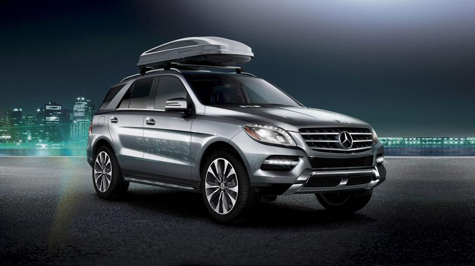 Mercedes Benz 2014 M CLASS SUV GALLERY 029 GOE D