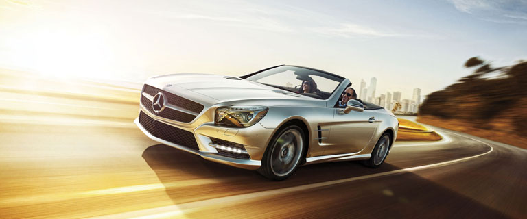 Sl class 2 door hardtop convertible roadster sl550 for Mercedes benz hardtop convertible 2014