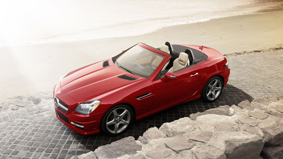 Mercedes Benz 2014 SLK CLASS ROADSTER GALLERY 001 GOE D