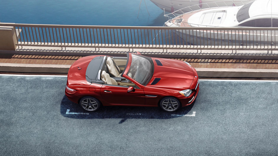 Mercedes Benz 2014 SLK CLASS ROADSTER GALLERY 003 GOE D