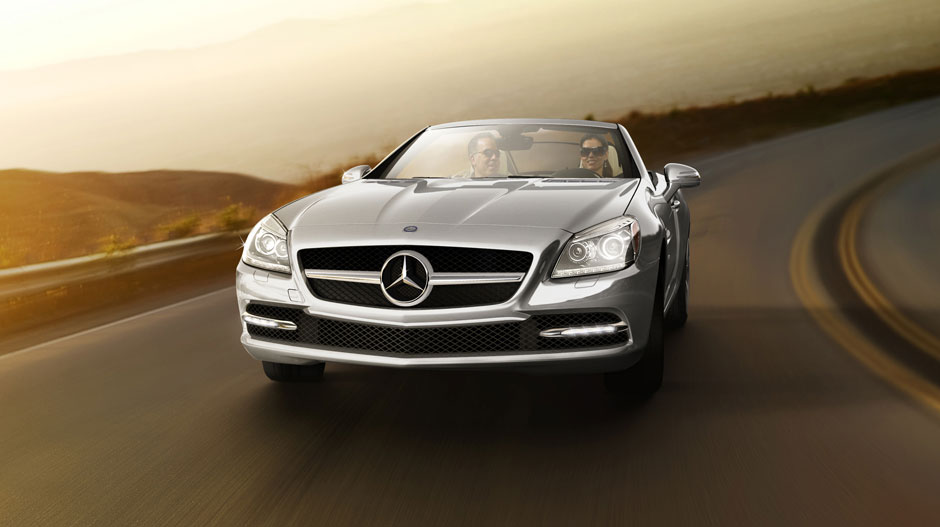 Mercedes Benz 2014 SLK CLASS ROADSTER GALLERY 004 GOE D