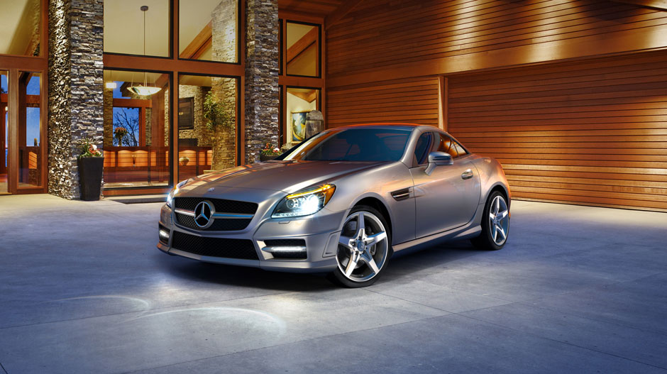 Mercedes Benz 2014 SLK CLASS ROADSTER GALLERY 007 GOE D