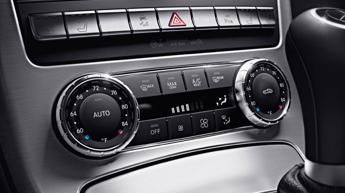 with optional dual-zone climate control