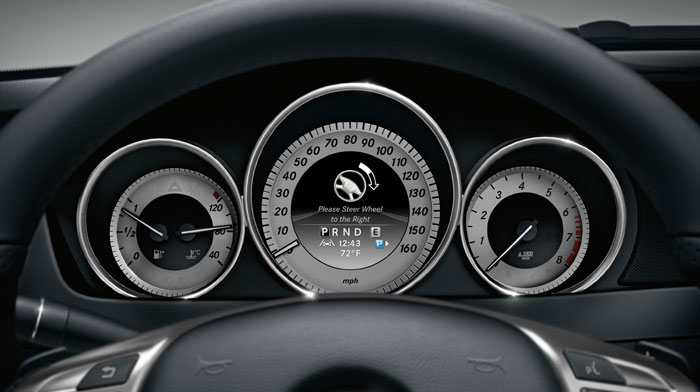 C-Class Coupe with color multifunction display