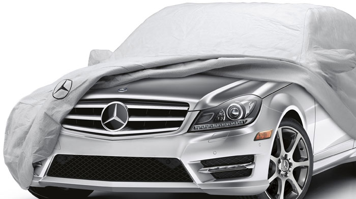 Mercedes-Benz Accessory custom-fitted car cover