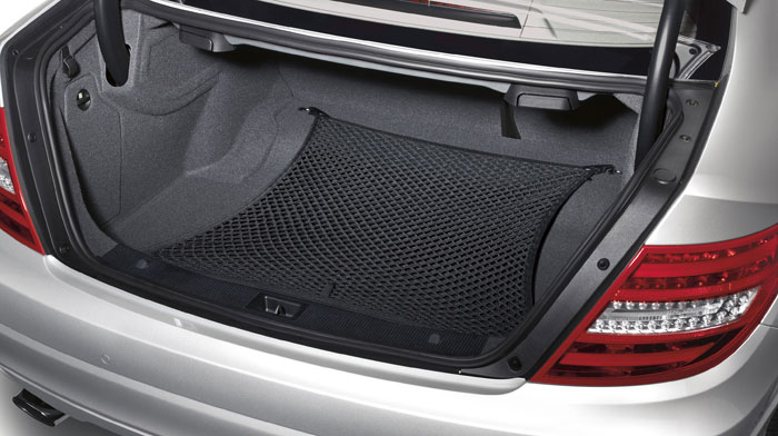 Mercedes-Benz Accessory cargo net for trunk floor