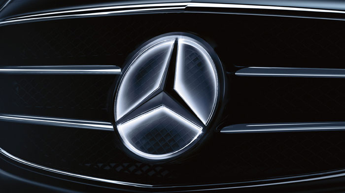 Mercedes-Benz Accessory Illuminated Star