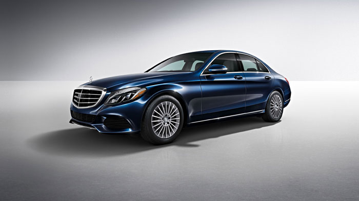 C300 Sedan in Lunar Blue with Luxury Package