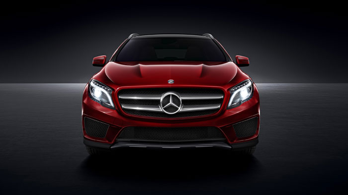 4MATIC in Jupiter Red with Lighting and Sport Packages