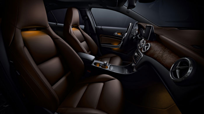 4MATIC in Brown leather with Interior and Sport Packages