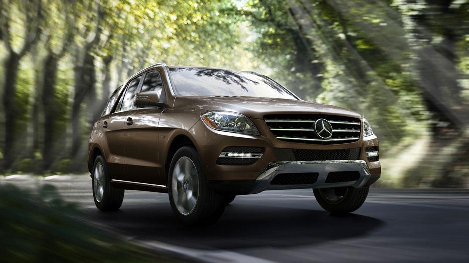Mercedes Benz 2014 M CLASS SUV GALLERY 001 GOE D