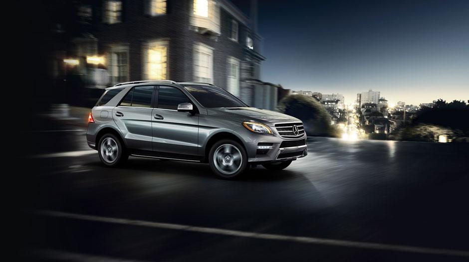 Mercedes Benz 2015 M CLASS SUV GALLERY 028 GOE D