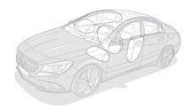Mercedes Benz 2014 CLA CLASS CLA250 027 MCF