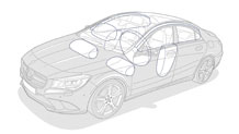 Mercedes Benz 2014 CLA CLASS CLA250C 027 MCF