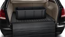 Cargo area tray
