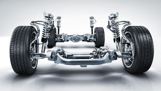 Suspensão Ativa da Mercedes Classe-S